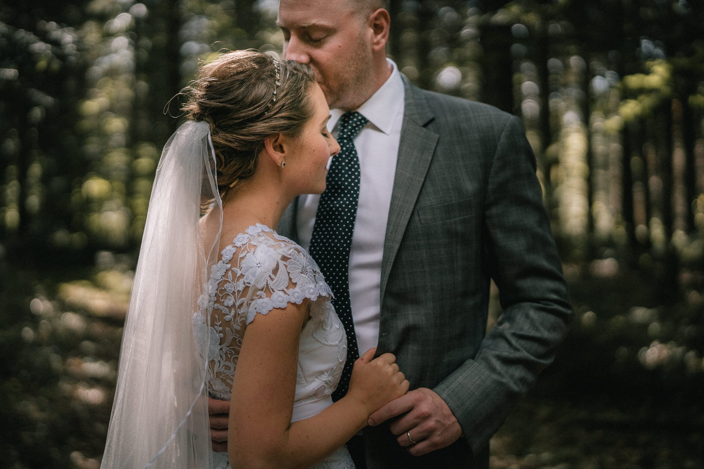 intimate Vermont wedding